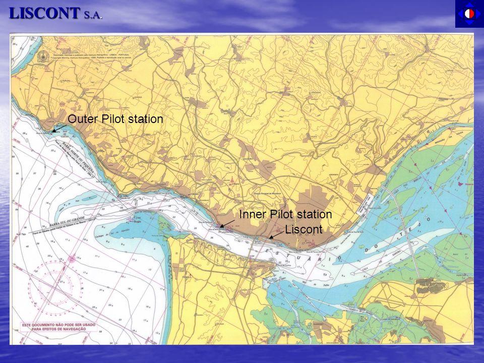 LISCONT S.A. Liscont Inner Pilot station Outer Pilot station