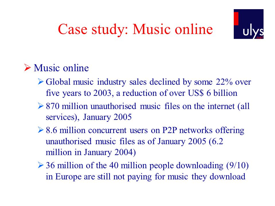The collapse of music industry ?