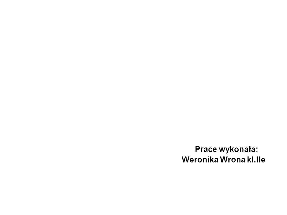 Prace wykonała: Weronika Wrona kl.IIe