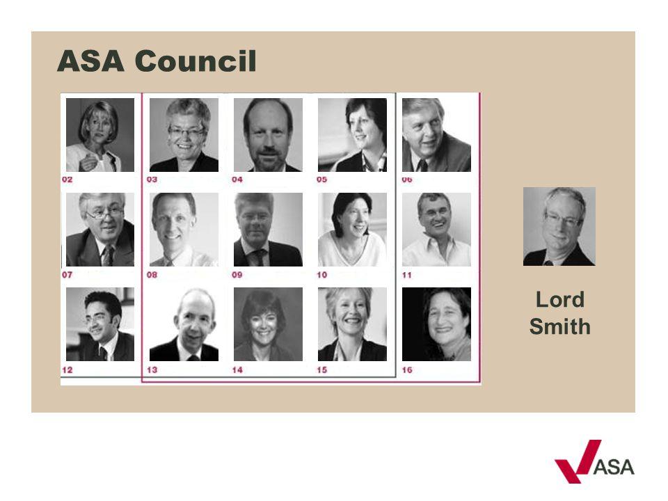 Lord Smith ASA Council