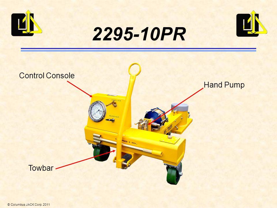 © Columbus JACK Corp. 2011 2295-10PR Hand Pump Towbar Control Console