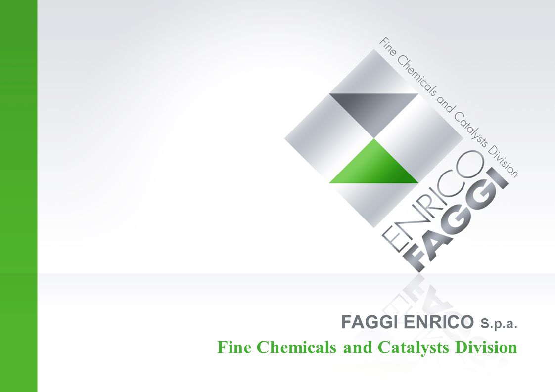 FAGGI ENRICO S.p.a. Fine Chemicals and Catalysts Division