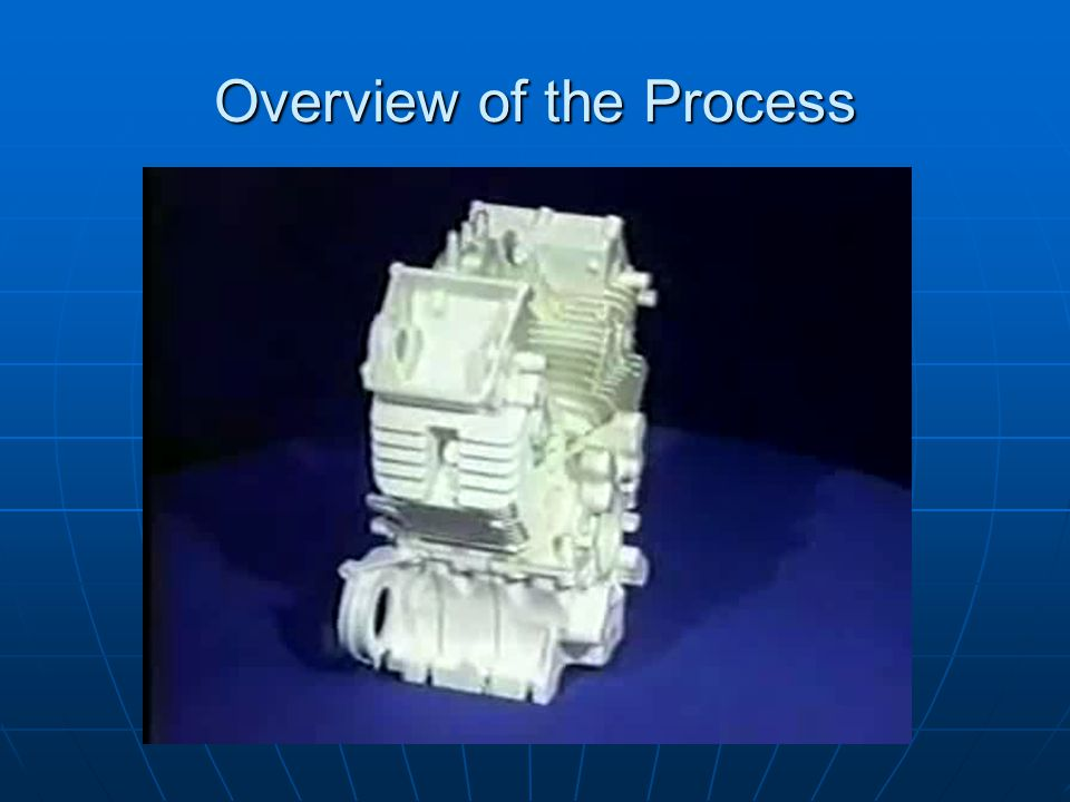 Derivatives of the Process Pattern Manufacture Pattern Manufacture Pattern Removal Pattern Removal Replicast Process Replicast Process