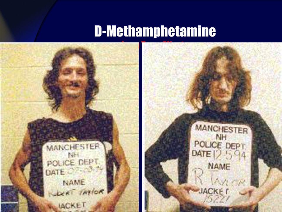 D-Methamphetamine Long Term Effects