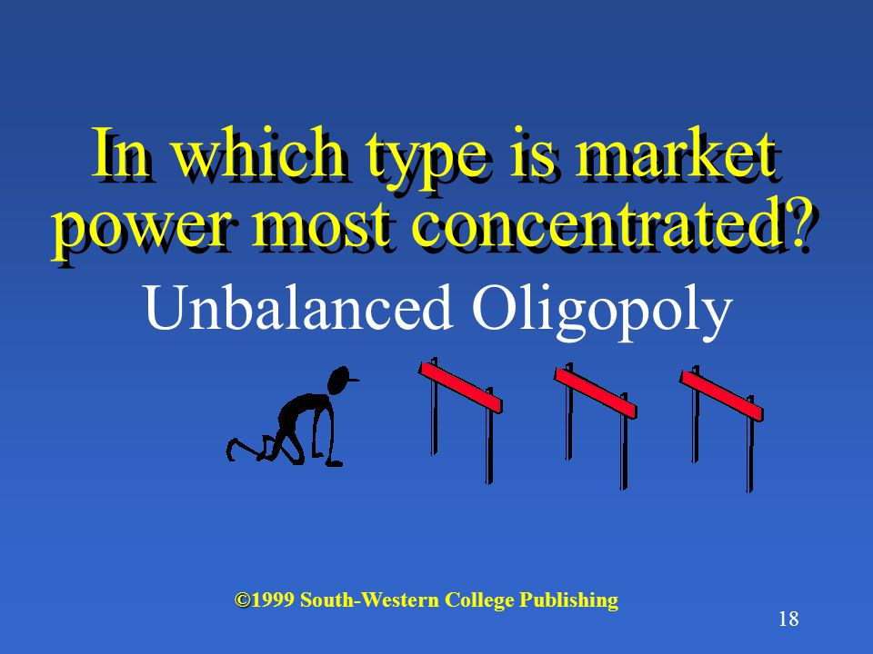17 What is a Balanced Oligopoly.