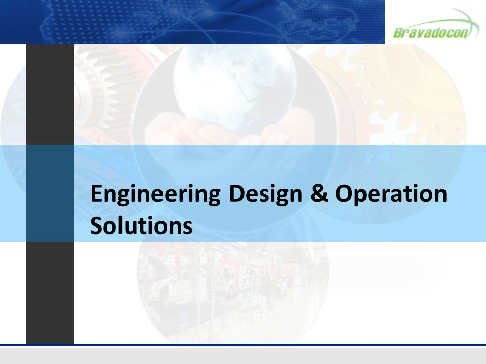 Engineering Design & Operation Solutions