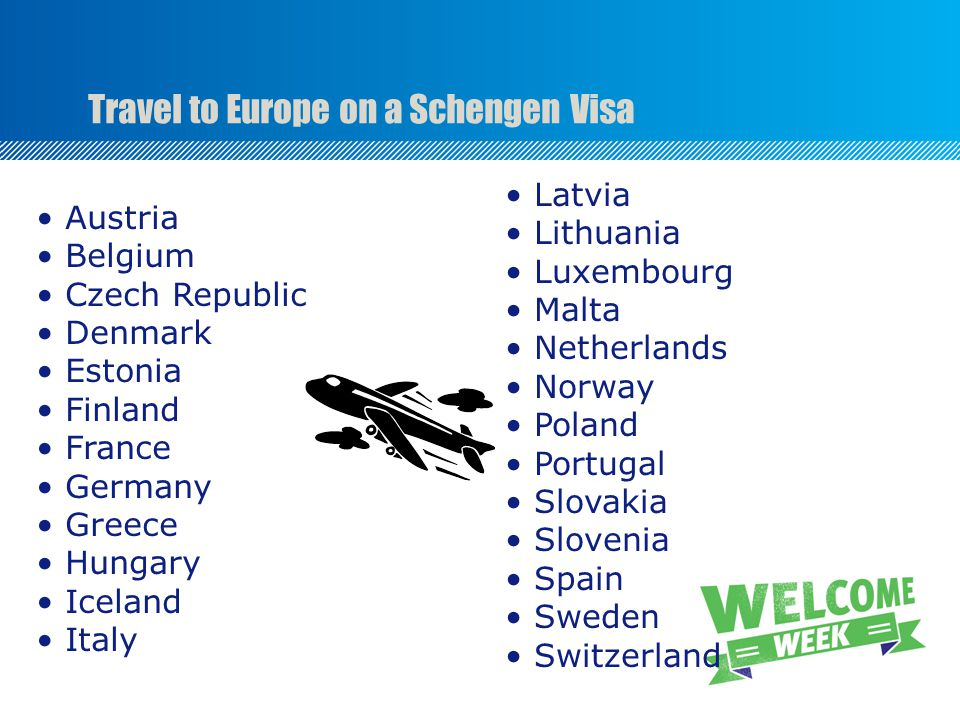 Travel to Europe on a Schengen Visa Austria Belgium Czech Republic Denmark Estonia Finland France Germany Greece Hungary Iceland Italy Latvia Lithuania Luxembourg Malta Netherlands Norway Poland Portugal Slovakia Slovenia Spain Sweden Switzerland