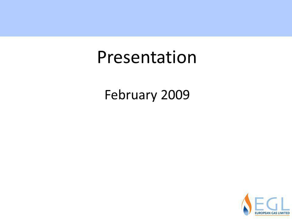 Presentation February 2009 3