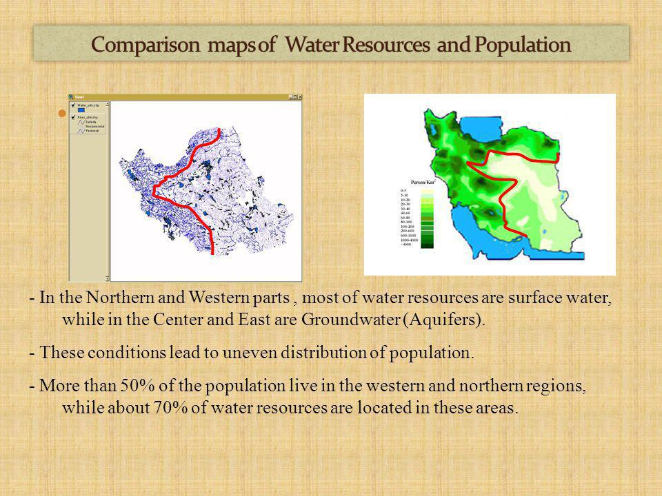 2010 2002 1995 Experts believe this may have two main reasons: o 70% of this is related to drought intensity and climate change o 30% is related to human activities such as dam construction on upstream rivers.