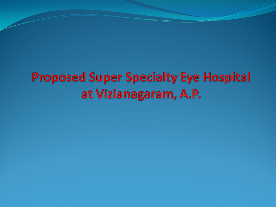 WELCOME TO THE PRESENTATION OF PUSHPAGIRI HEALTHCARE EYE HOSPITALS PVT LTD