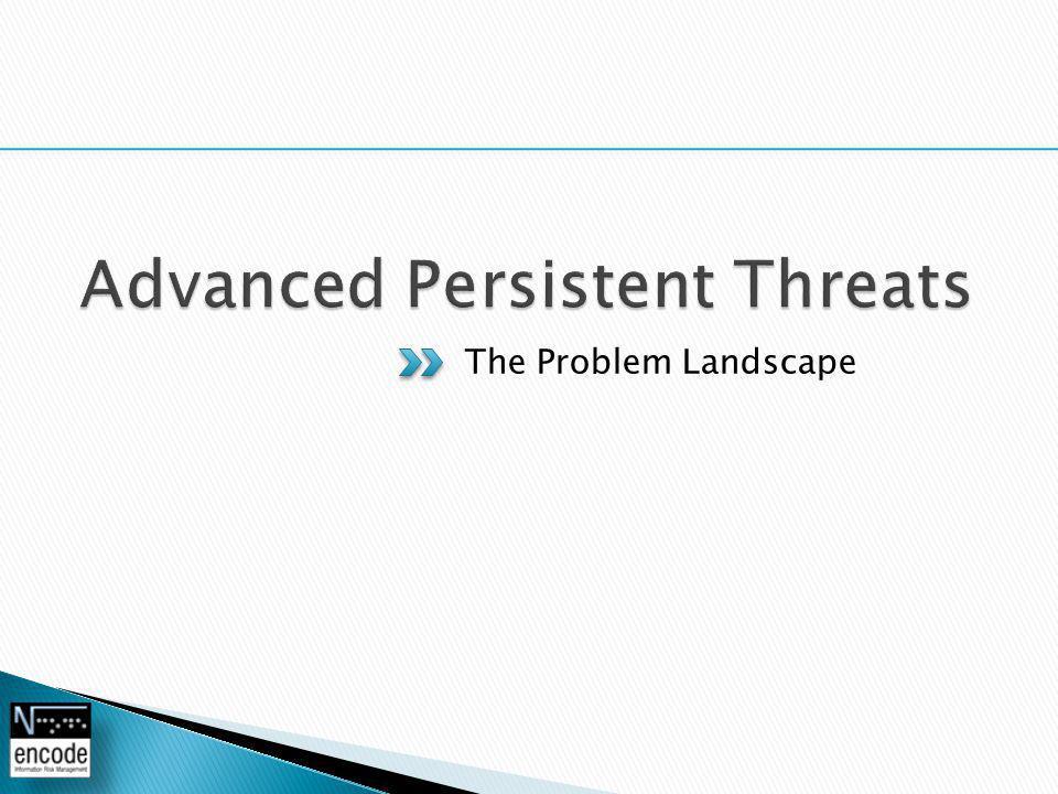 The Problem Landscape