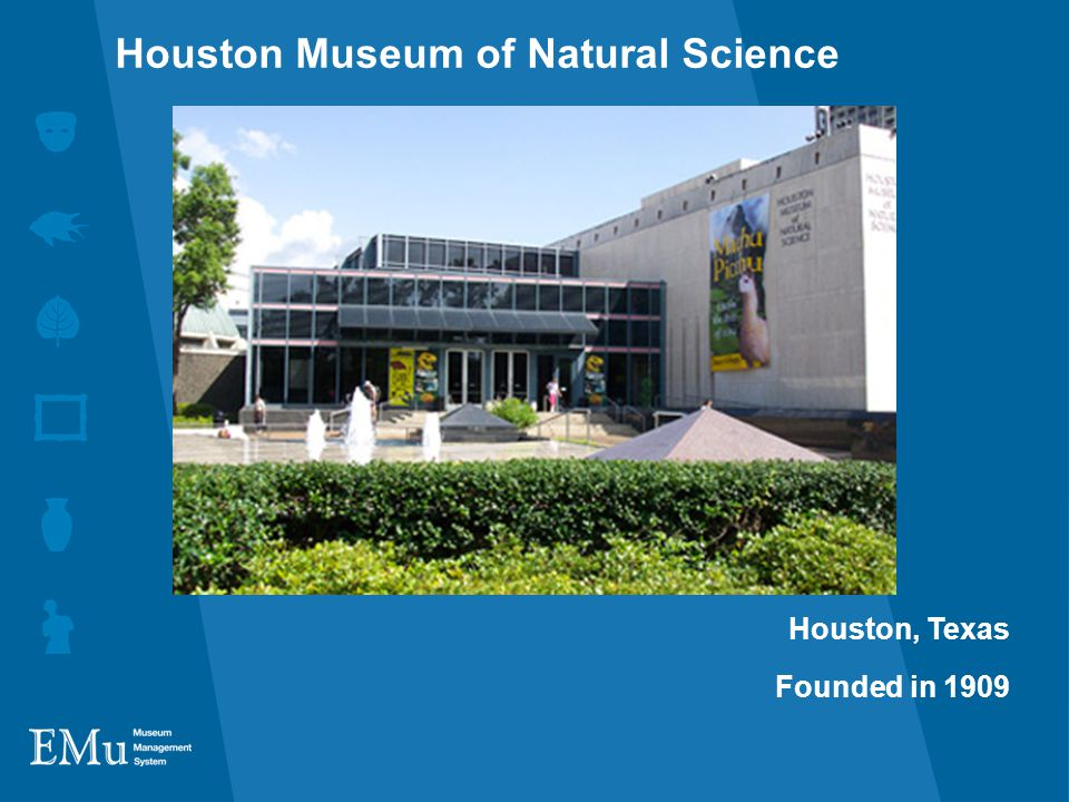 Houston, Texas Founded in 1909 Houston Museum of Natural Science