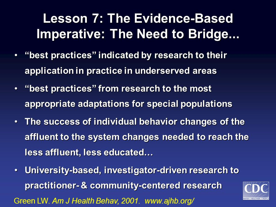 Lesson 6: The Educational Imperative Public awareness of risks and benefitsPublic awareness of risks and benefits Public interest in lifestyle optionsPublic interest in lifestyle options Public understanding of behavioral stepsPublic understanding of behavioral steps Public attitudes toward the options & stepsPublic attitudes toward the options & steps Public outrage at the conditions that have put them at risk or in dangerPublic outrage at the conditions that have put them at risk or in danger Personal and political actionsPersonal and political actions