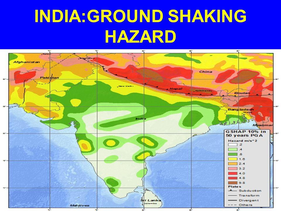 INDIA'S SEISMICITY