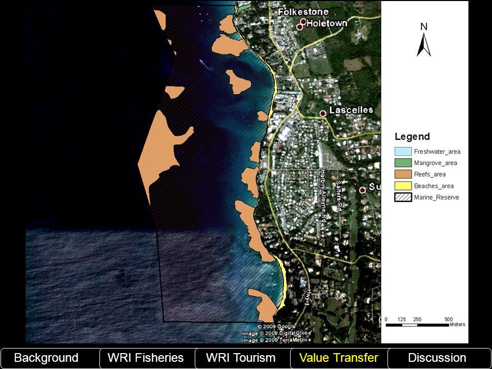 BackgroundWRI Fisheries WRI TourismValue TransferDiscussion