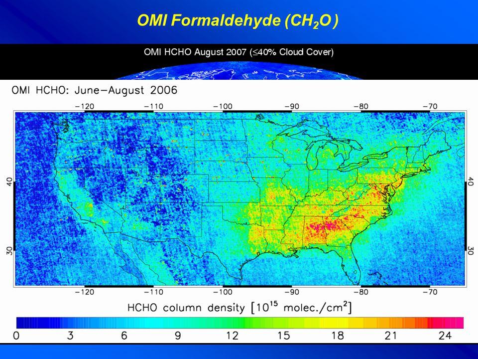 OMI Formaldehyde (CH 2 O )