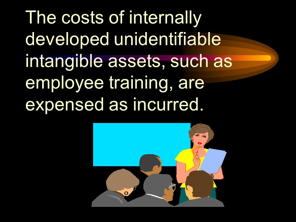Intangibles may be purchased from others or developed internally.