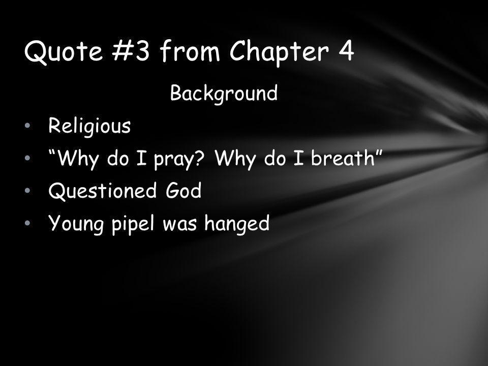 Background Religious Why do I pray.
