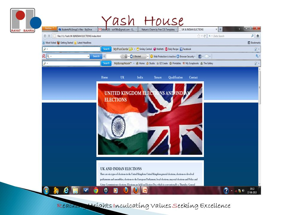 Yash House Reaching Heights Inculcating Values Seeking Excellence