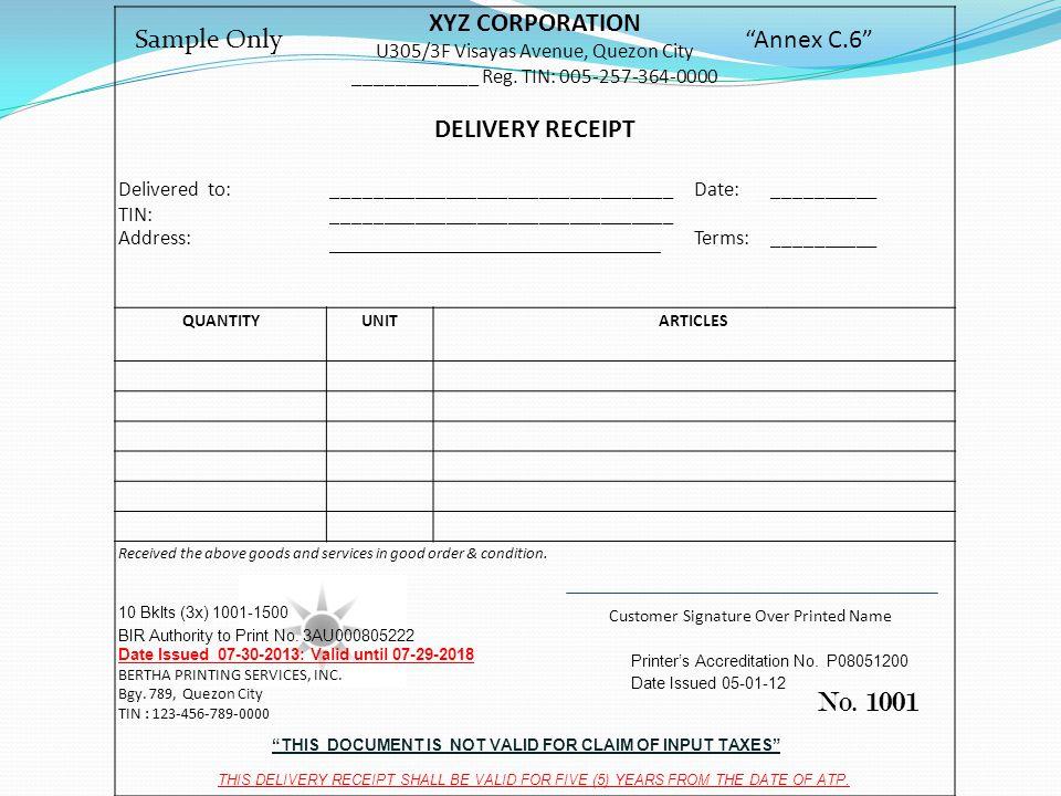 XYZ CORPORATION U305/3F Visayas Avenue, Quezon City ____________ Reg.