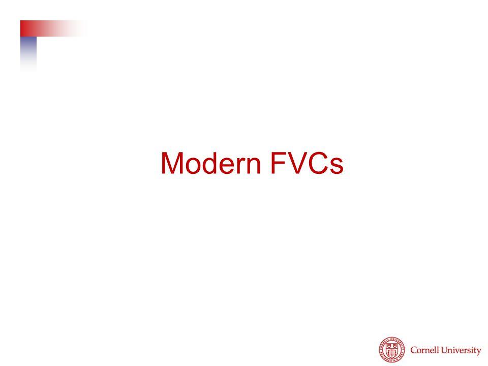 Modern FVCs