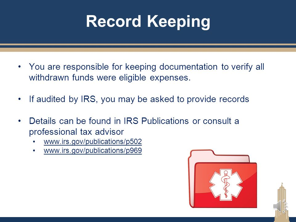 Managing Your HSA Contributions The IRS imposes a 6% penalty plus tax on excess contributions. YOU (account holder) are responsible to track your cont
