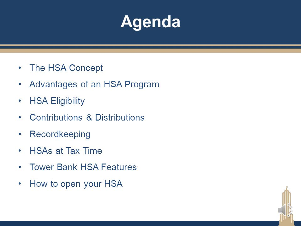 Getting The Most From Your HSA For the employees of: Butler University