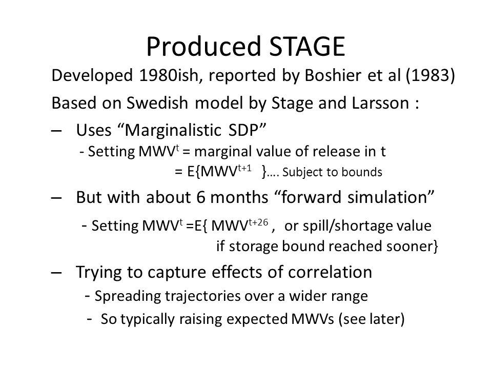 Optimal (SDP/STAGE) guidelines