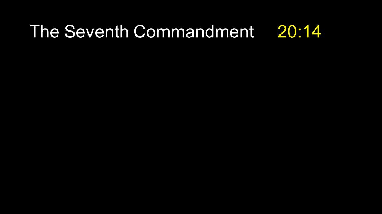 The Seventh Commandment 20:14