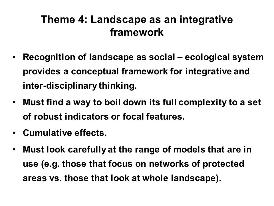 Theme 5: Upscaling How to upscale from research to practice.