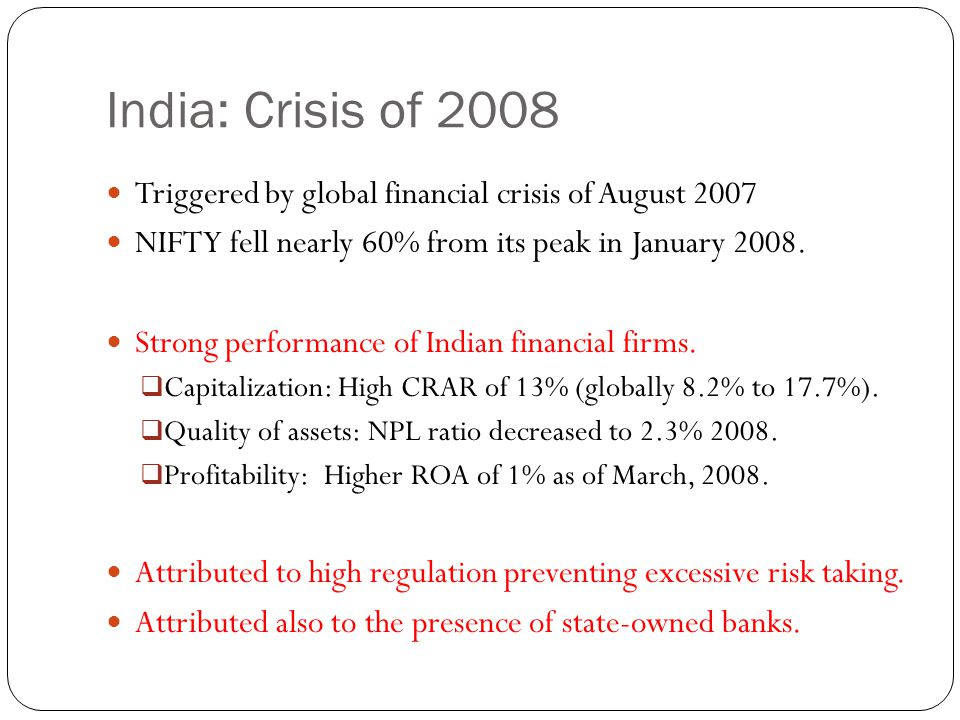 Robustness Checks Same banks were systemically important in 2006 and 2007.
