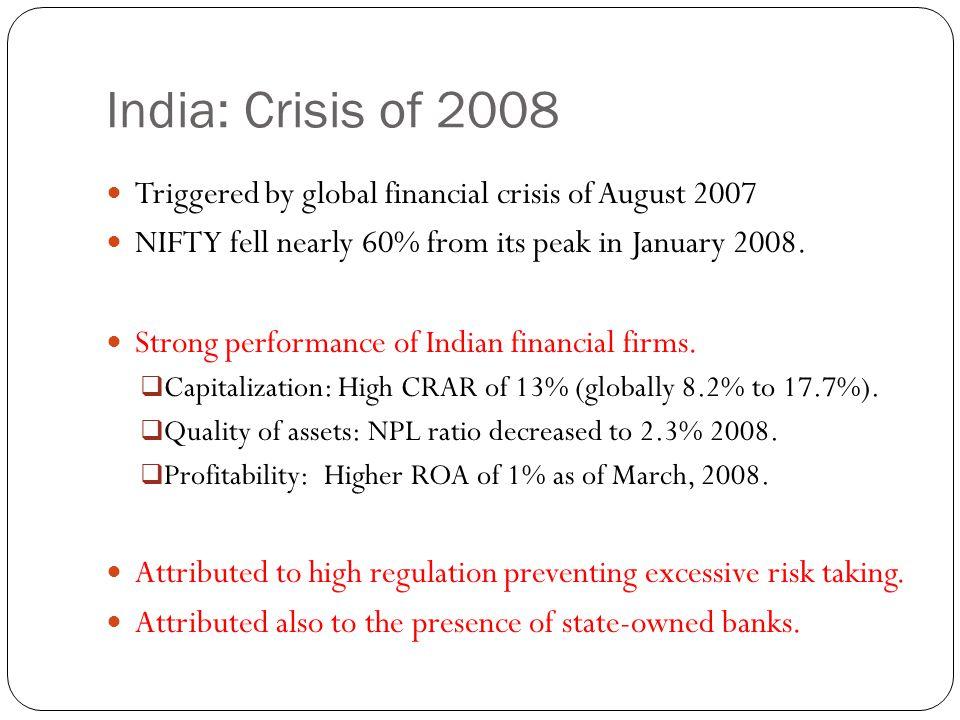 Crisis of 2008