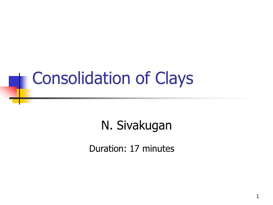 SIVA Copyright©2001 2 What is Consolidation.