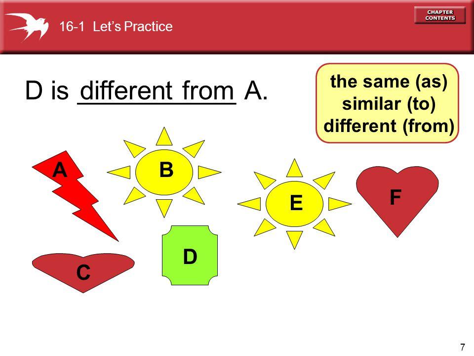8 A E D C B F B is ___________ E.