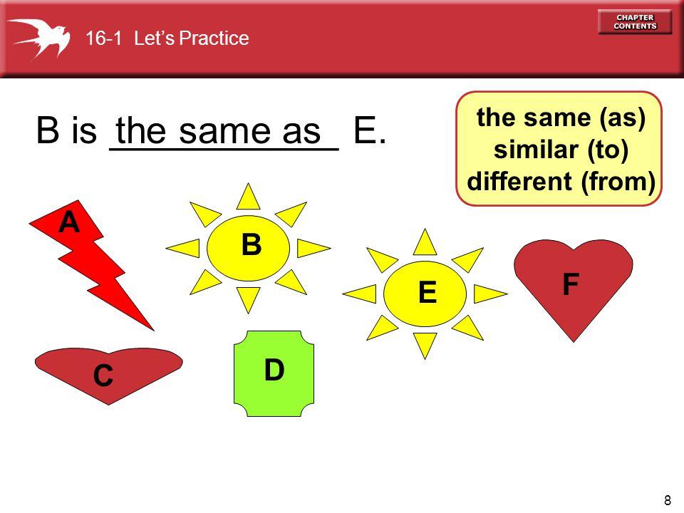 9 A E D C B F C is _________F.
