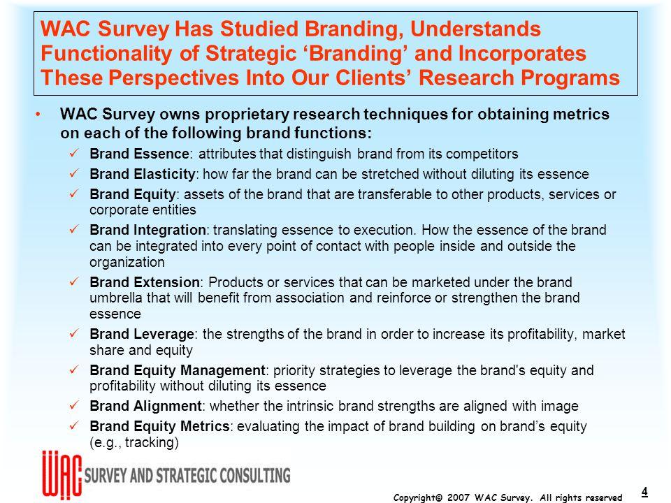 Copyright© 2007 WAC Survey.