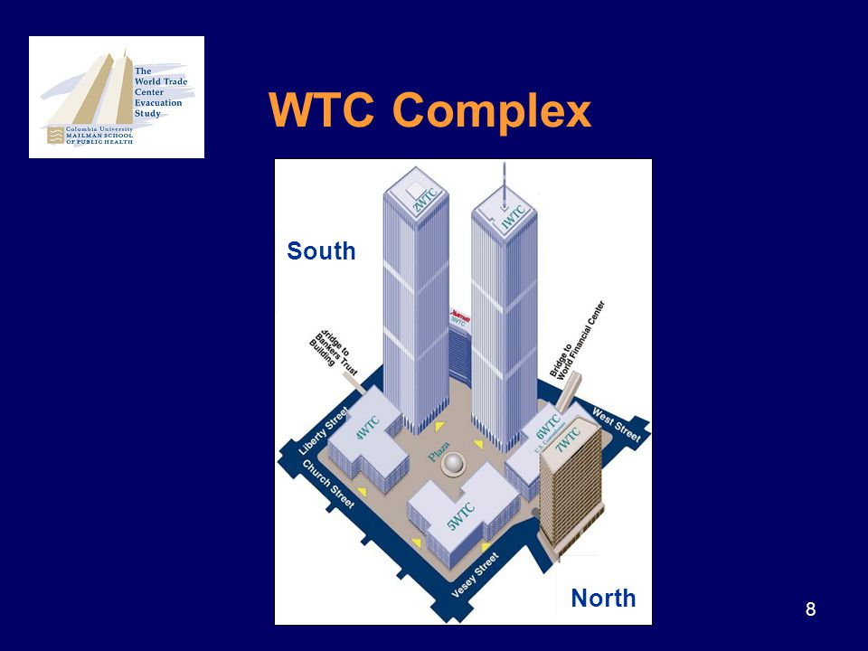 8 South North WTC Complex