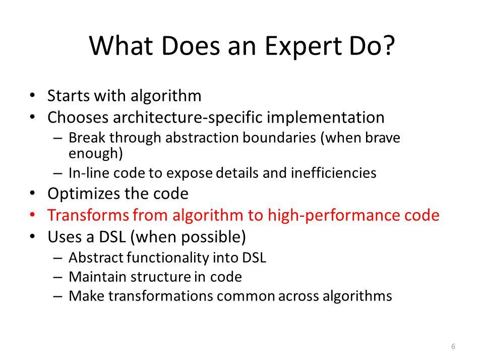 Grammars and Meta-Models Models are algorithms/code Meta-model defines correct models Ensures proper types and properties in code – Code compiles Meta-model for domain is grammar for DSL 17