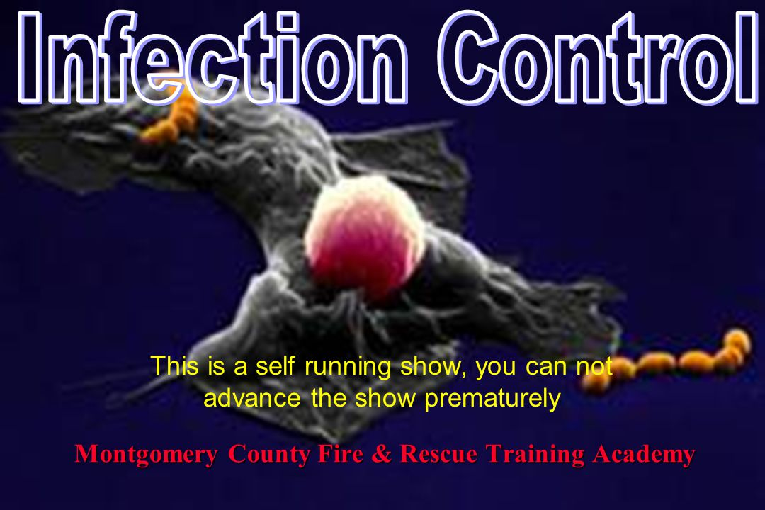 Montgomery County Fire & Rescue Training Academy This is a self running show, you can not advance the show prematurely