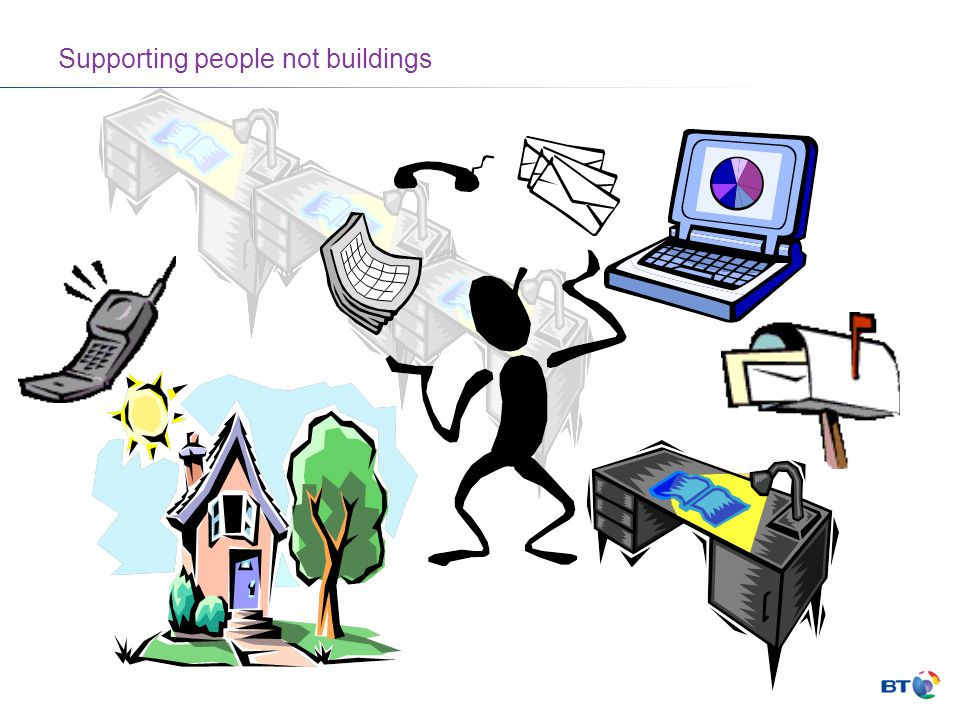 Supporting people not buildings