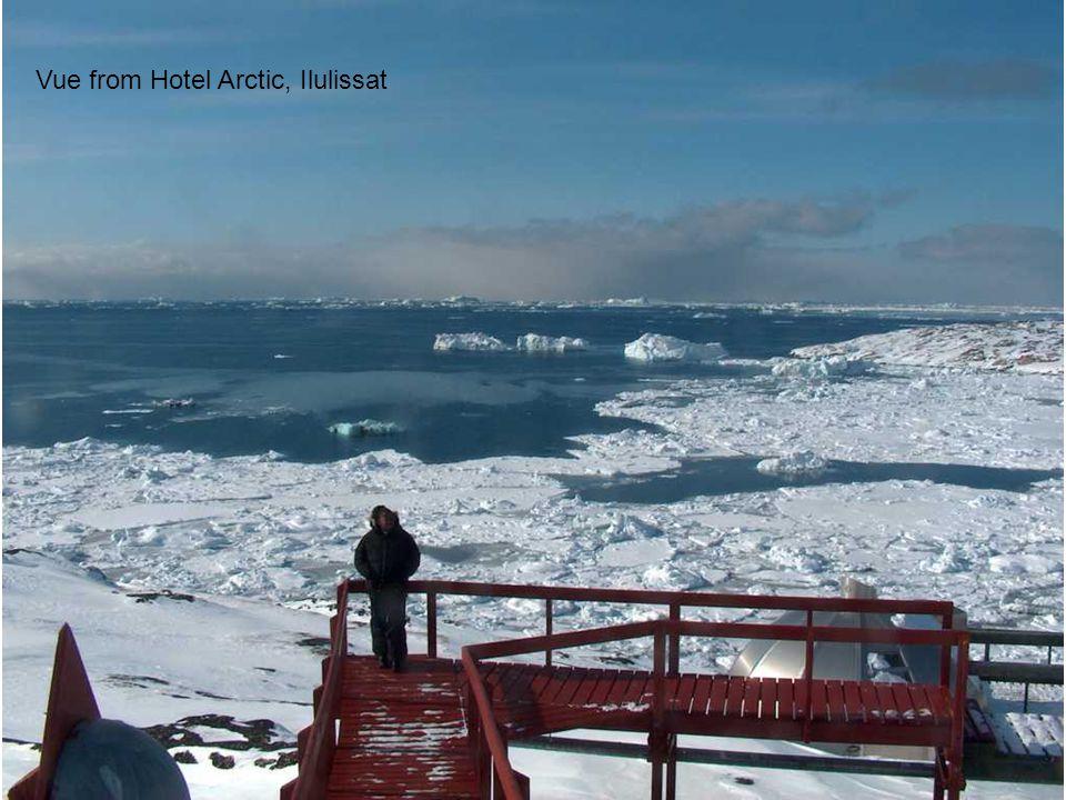 Vue from Hotel Arctic, Ilulissat