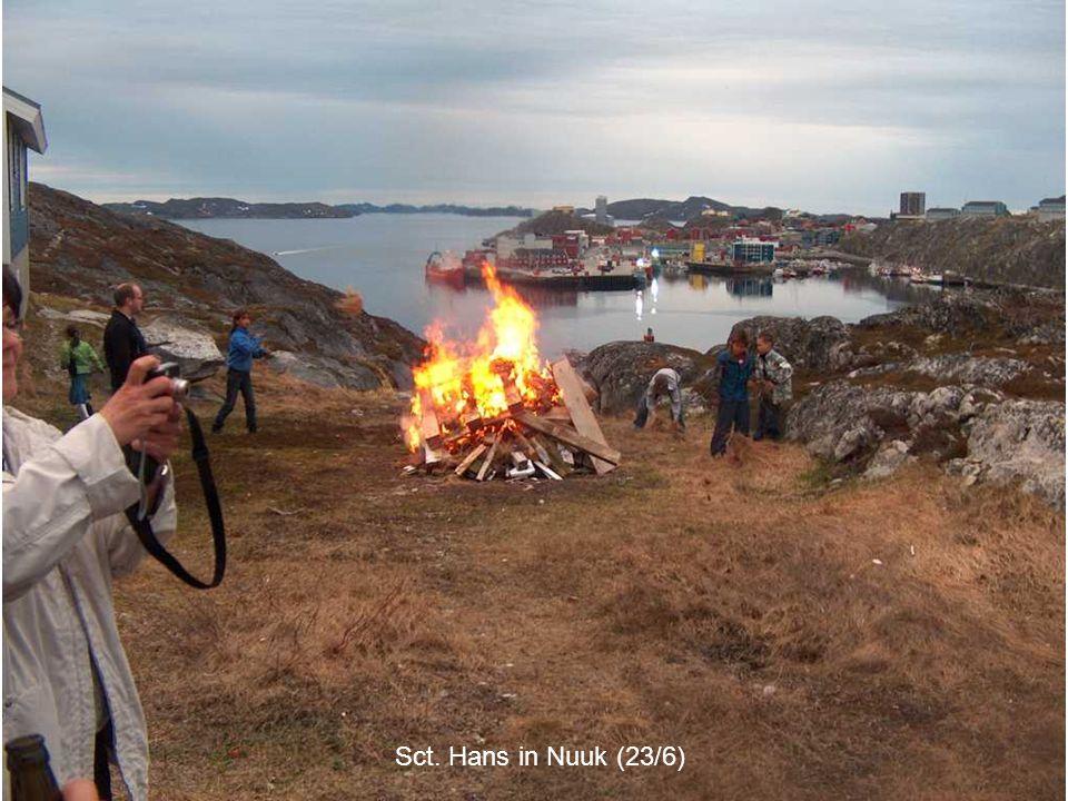 Sct. Hans in Nuuk (23/6)