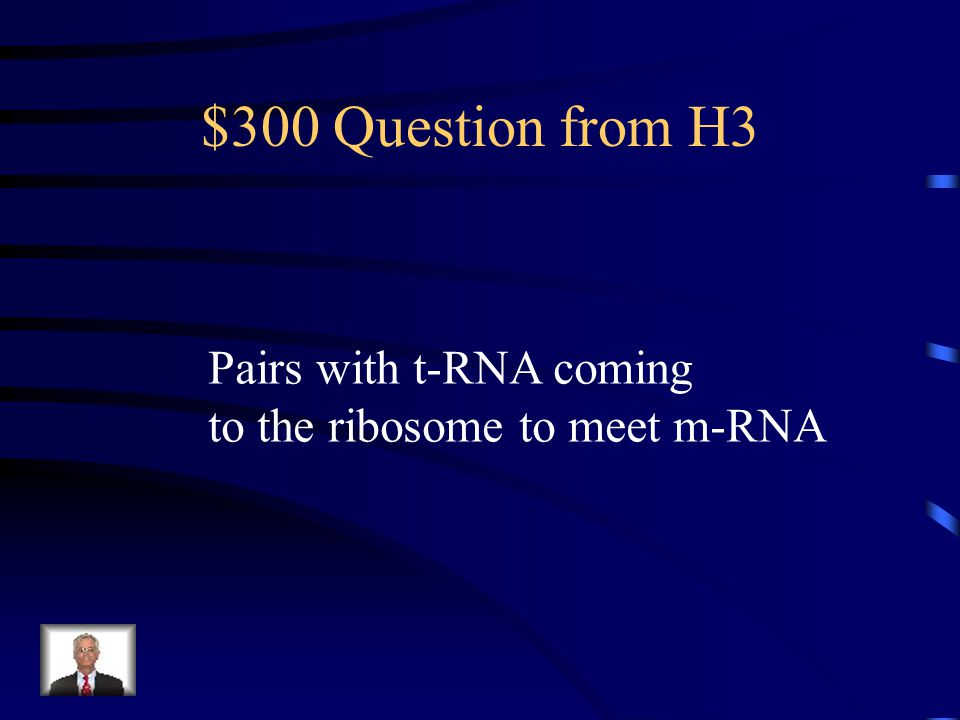 $200 Answer from H3 What is transfer RNA? What is t-RNA?