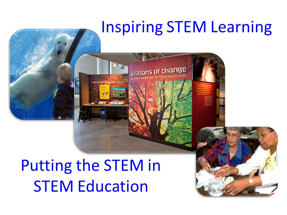 Inspiring STEM Learning Putting the STEM in STEM Education