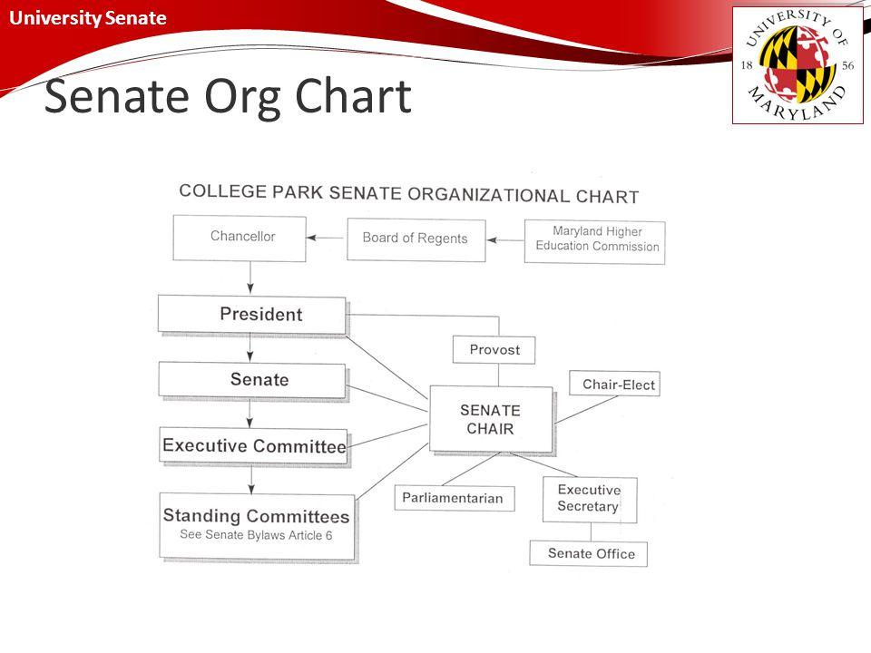University Senate Senate Org Chart