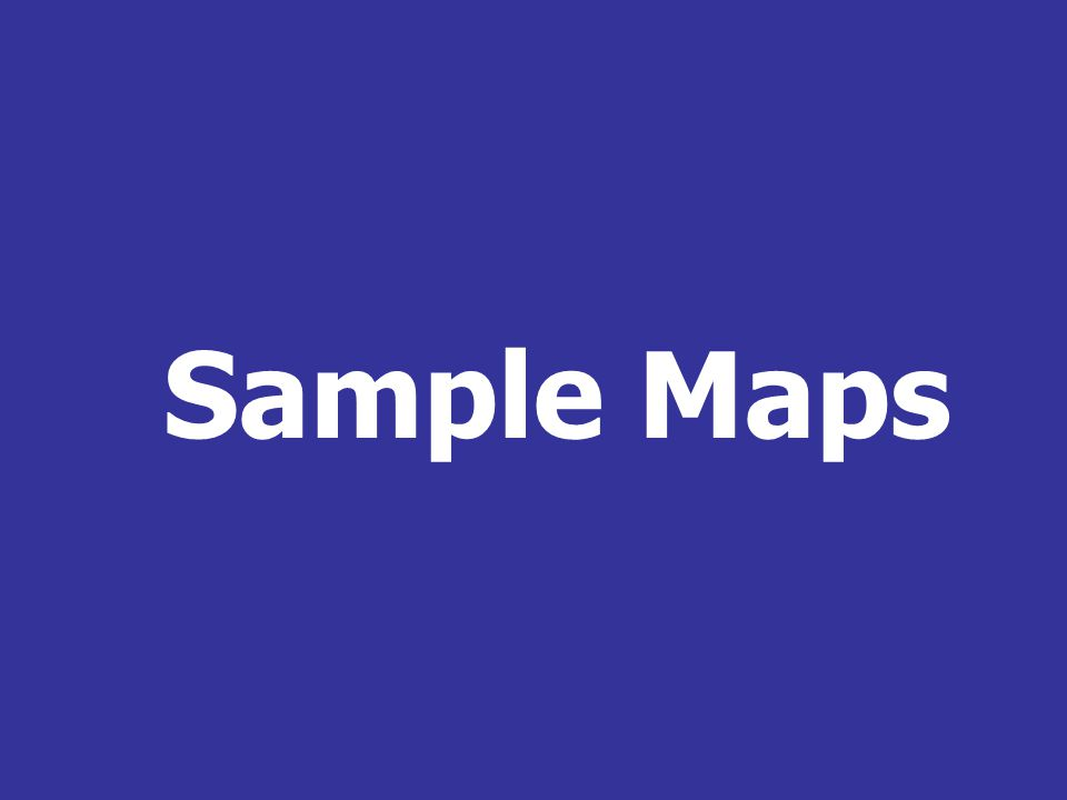 Sample Maps