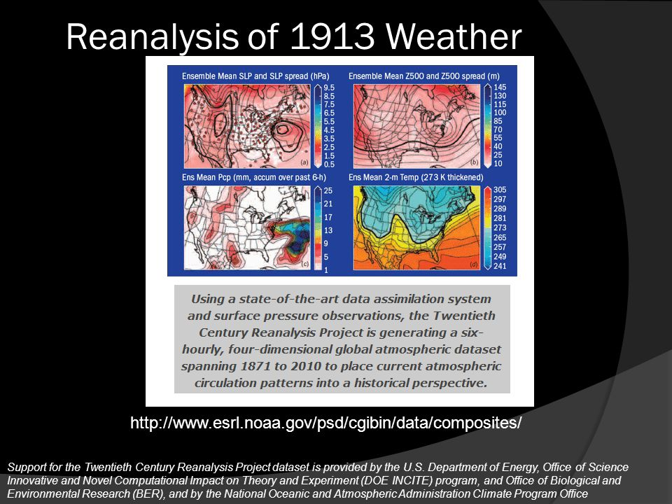 March 23, 1913 Image provided by the NOAA-ESRL Physical Sciences Division, Boulder Colorado from their Web site at http://www.esrl.noaa.gov/psd/