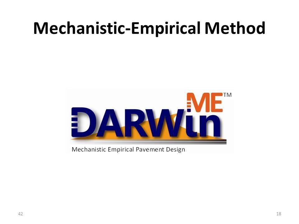 Mechanistic-Empirical Method 4218