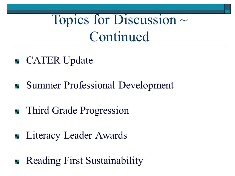 Reading First Sustainability K-12 Reading Plan Connections Funding Resources  Sustainability Literature  Self Assessment Instruments  Sustainability Briefs