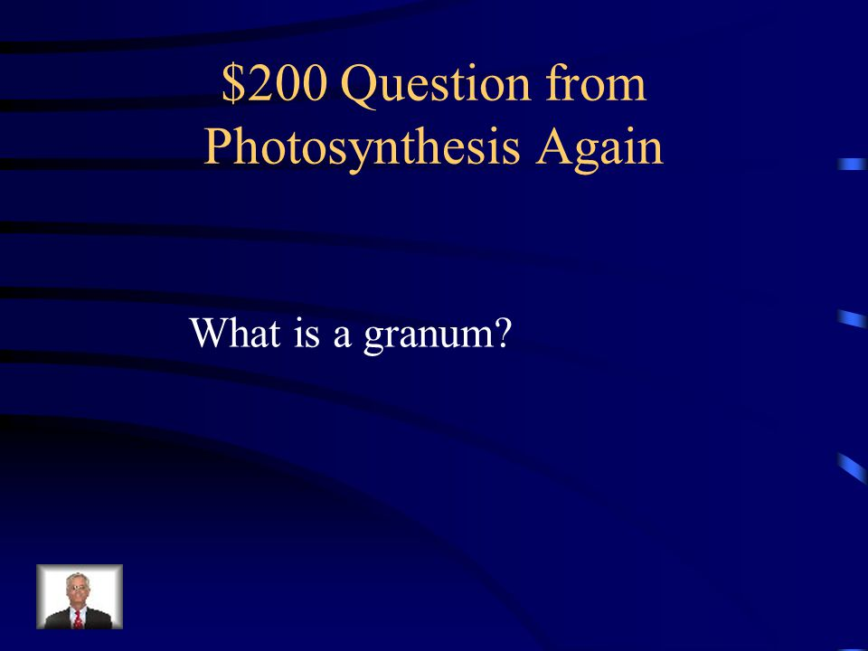 $100 Answer from Photosynthesis Again The chlorophylls reflect green light.